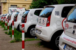 A popular carsharing service in Germany